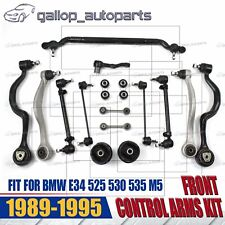 89-95 For BMW E34 5 Series M5 Center Track Rod Front Lower Control Arm Kit Set