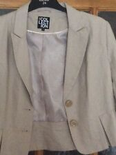 Linen Jacket Size 16 The Collection Debenhams