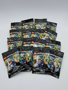 LEGO SERIE COMPLETE 16 FIGURINES DC COMICS REF 71026 *SACHETS OUVERTS*