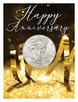 2020 $1 1 oz American Silver Eagle Wedding Anniversary Coin Card GEM BU SKU60254