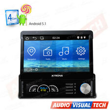 "7"" Single DIN Android 5.1 Car GPS Sat Nav Head Unit Radio Stereo Bluetooth DAB+"