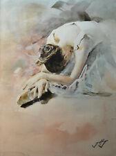 Original painting by American Artist J.Jung / Ballerina #0244WR20