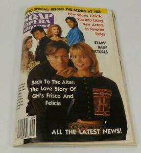 Soap Opera Digest February 6, 1990  General Hospital's Frisco and Felicia Cover