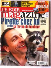 Soir Magazine 6/08/2008; Pirette Chez lui/ Gad Elmaleh/ Reynders/ Mathilde