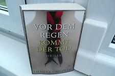 BUCH VOR DEM REGEN KOMMT DER TOD LIENEKE DIJKZEUL THRILLER KRIMI ROMAN BOOK !!!!