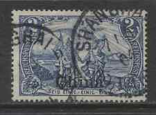1901 German offices CHINA  2 Mark  issue used -SHANGHAI-