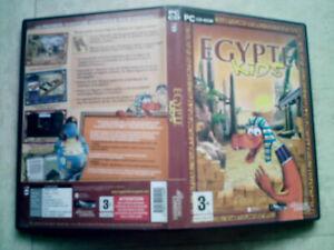 jeu pc cdrom egypte kids  3 ans et plus