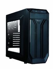 Rosewill BRADLEY M ATX Mid Tower Gaming Computer PC Case w/ Side window Blue LED