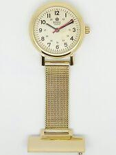 Enfermera Fob Watch por Royal London Tono Oro 20067-02 RRP £ 49.99