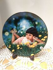 """Lindsay"" from Treasured Days Collection by Higgins Bond Collector Plate"
