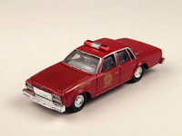 HO Scale Classic Metal Works 30168 1978 Chevrolet Impala Fire Chief Car