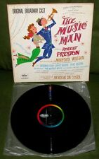 THE MUSIC MAN Robert Preston OST Orig 1st US CAPITOL Broadway Cast EXCELLENT