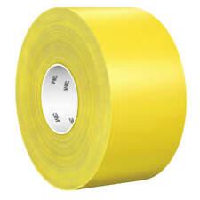 "3M 971 Floor Marking Tape,Solid,Yellow,4"" W"