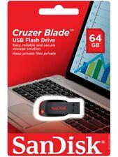 Memoria Pendrive SanDisk Penna USB 64gb Cruzer Blade