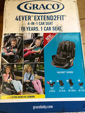 Graco 4Ever Extend2Fit 4-in-1 Car Seat Color: Passport