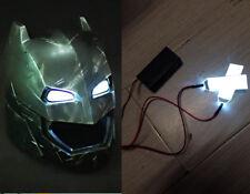 White 1:1 Led Light Eyes For Ironman/ Batman/Black Panther Helmet DIY Eyes Mask
