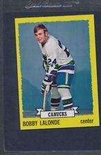 1973/74 Topps #189 Bobby Lalonde Canucks NM *484