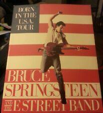 Bruce Springsteen Born in the Usa Tour program