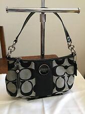 744abec953 Authentic Coach Signature Demi Crossbody Bag Black F17439 - AS NEW