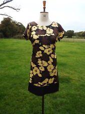 Gorgeous M&S AUTOGRAPH Silk Mix Occasion Shift Dress Lined Size 14