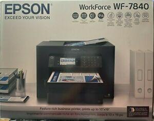 Epson Workforce WF-7840 Wireless Inkjet All-In-One Printer (C11CH67201)
