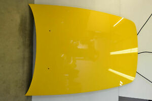 Honda S2000 Hood Bonnet Panel Aluminum Yellow Genuine Oem 2000-2009