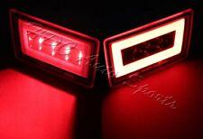 For 11-18 Subaru Impreza WRX STI Red Lens F1 Style LED DRL Rear 3rd Brake Light