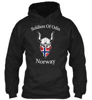 Soldiers Of Odin Norway - Gildan Hoodie Sweatshirt