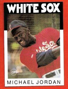 1986 Topps Card, Michael Jordan Chicago White Sox, Brand New.