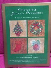 Collectible Journal Ornaments - Four Miniature Ornament Journals