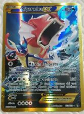 Lotto carte Pokemon GYARADOS EX FUORISERIE 123/122 XY TURBO CRASH BREAK FULL ART