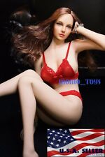 American Sexy Beauty Doll Set TBLeague 1/6 Super Flexible Seamless Body S07C USA