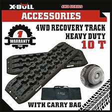 X-BULL 4WD Recovery Tracks Sand Track 2pc 10T Sand/Snow/Mud Trax With Carry Bag