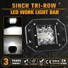 5inch 120W Flush Mount Square LED Work Light Flood Spot Off-road Driving Lamp