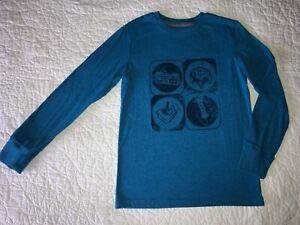 Boys CAT & JACK Gamer Long Sleeve T-shirt Shirt Size M Medium 8-10 EUC!
