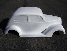 1937 Ford Slantback hot rod stroller pedal car fiberglass body rat rod