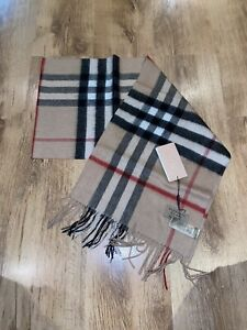 Brand New Burberry Scarf With Tags