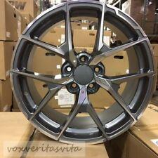 18 Y Spoke Amg Style Gunmetal Wheels Rims Fits Mercedes Benz E320 E500