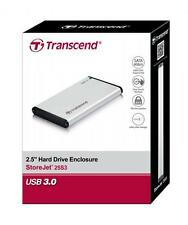 "Transcend 2.5"" Enclosure for SATA 6Gb/s SSD & Hard Drive (External SATA Casing)"