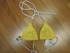 Shoshanna, Swimsuit Top , Yellow ,Size A, NWT