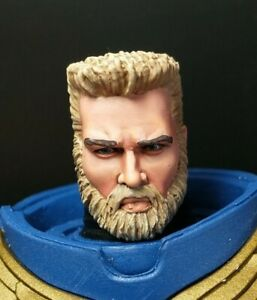 HEAD ONLY Custom Painted Mcfarlane Toys Space Marine Head Warhammer 40k