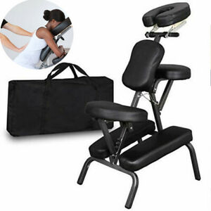Large Portable Folding PU Leather Pad Travel Tattoo Spa Salon Massage Chair