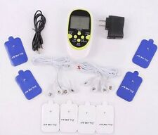 Tens Unit Dual Output Electric Massager Machine Muscle Stimulator Acupuncture