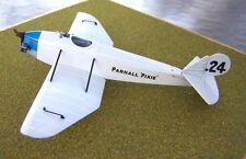Parnall Pixie II Lightplane Racer Aircraft Wood Model Big New