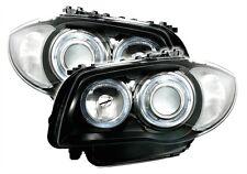 PHARES ANGEL EYES BMW SERIE 1 E81 E87 LUXE PREMIERE CONFORT FEUX AV AVANT M2