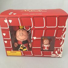 Disney Vinylmation Alice in Wonderland 3 Inch Queen 1.5 Inch Jrs King Set NIB
