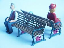 g scale/16mm Welsh Highland Railway station platform bench