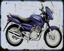 Bajaj Pulsar 180 05 01 A4 Metal Sign moto antigua añejada De