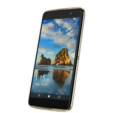 """ALCATEL IDOL 4 Pro 6077X gold 64GB LTE Windows Smartphone 5,5"""" Display 21MPX"""