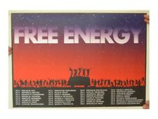 Free Energy Poster Dancing Hippies Sunset Tour